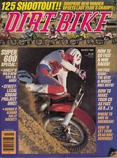 DIRT BIKE - March 1989 - AMA Cross Country / Honda XLV600 / Pro Circuit CR250R