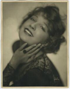 Sensuous French Actress Lili Damita Original Large Herbert Mitchell Photograph