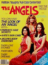 Charlie's Angels Magazine 1977 The Angels Farrah Kate Jaclyn Centerfold MINT COA
