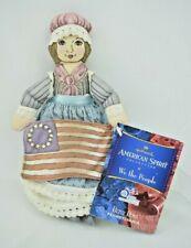 Hallmark - Betsy Ross - American Spirit Collection - Pennsylvania - Plush Doll