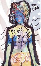 MARK RIX - Dipinto Originale - Overland USA - SEXY ART mail