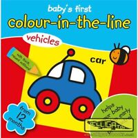 My Colouring Book Baby's First Colour  Book in the line From 12 Months+ Vehicles