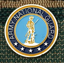 """Us Army National Guard 1"""" Gold Plated Ball Marker by Golf Design Usa"""