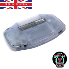 """Clear Purple """"Glacier"""" GBA Battery Cover Nintendo Gameboy Advance Replacement"""