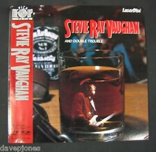 STEVIE RAY VAUGHAN AND DOUBLE TROUBLE Live Tokyo 1985 Japanese Laserdisc w/obi