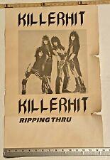 "Vintage rare poster KILLERHIT RIPPING THRU 15"" x 24"""