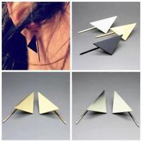 1Pair Alloy Minimalist Simple Punk Jewelry Ear Stud Triangle Earrings Geometry