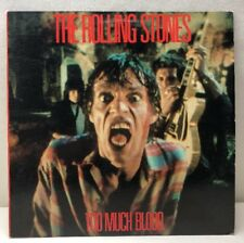 The Rolling Stones Too Much Blood 0-96902 Record NM