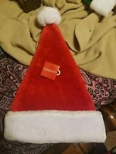 Holiday home Plush Santa hatPlease go to my page and see other items that I.