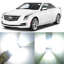 Alla Lighting Front Turn Signal Light 7440NA White LED Bulb for Cadillac ATS XTS