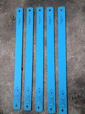 """5x VANGUARD Biflex HSS Power Hacksaw Blades 400mm x 35mm 16"""" X 1 1/4""""  6T"""