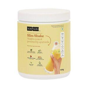 Kapiva Mango Slim Shake -Meal Replacement Drink Powered
