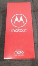 NEW SEALED MOTOROLA MOTO Z4 XT1980 + 360 MOD FROST WHITE 128GB FACTORY UNLOCKED