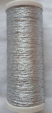 New High Quality 1 x 100m Silver Metallic Sewing Thread For Hand Or Machine