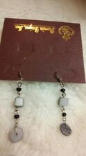 Premier Designs Jewelry SHADOWS Mother of Pearl Beads EARRINGS NWT