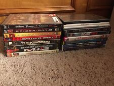 Lot of 17 Empty DVD Cases Assortment with art (no dvds included)