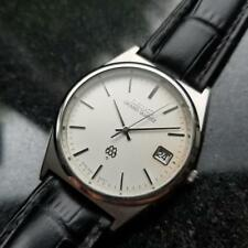 SEIKO Men's Elegant Grand Quartz 9942-8000 Dress Watch w/Date c.1988 MO20