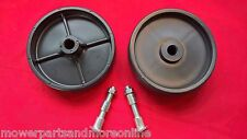 2 x Greenfield Ride On Lawn Mower 28, 30, 32 and 34 Inch Deck Wheel Kit
