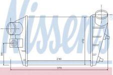 NISSENS Intercooler Turbo Caricatore 96698 sostituisce 46744880