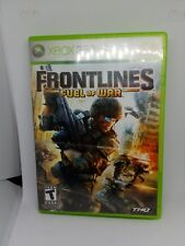 Frontlines Fuel Of War Xbox 360 Replacement Case And Manual Only