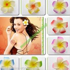 Haarblume FRANGIPANI Hawaiian Blumenspange Haarblüte Haarspange -10 Farben