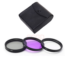 52 mm UV CPL FLD Multi Coated 3 Piece Filter Kit for nikon Canon Pentax Camara