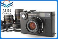 【AMAZING SET!!】Leitz Minolta CL Camera w/ 28mm,40mm,90mm 3Lens from Japan 456