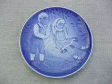 Bing & Grondahl 1986 Barnets Dag, Children's Day plate, A Joyful Flight Denmark