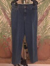 Lauren Jeans Co Ralph Lauren Women's Size 10 Classic Straight Denim Blue Jeans
