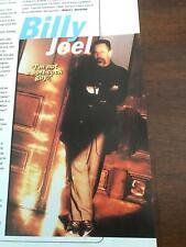 1997 VINTAGE 1 PAGE MAGAZINE PRINT ARTICLE ON SINGER/PIANIST BILLY JOEL