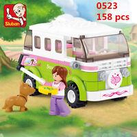 Sluban MINI Blocks DIY Kids Building Educational Toy Puzzle Green Car 0523
