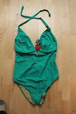 HEINE Badeanzug Gr. 46 C  grün NEU