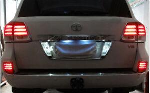 For Toyota Land Cruiser LC200 08-15 LED Rear Bumper Fog Light Reflector Lamp