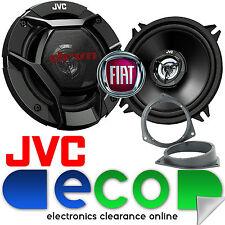 Fiat Fiorino 2008 - 2014 JVC 13cm 520W 2 Way Front Door Car Speakers & Brackets