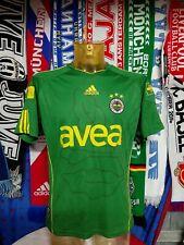 Maglia Calcio Fenerbahce Third Shirt 2010-11 Adidas Avea Size M Turkey Jersey