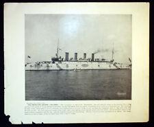 Antique Photos Usn Navy Protected Cruiser Uss Columbia or The Big Gun