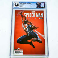 Spider-Man: City At War #1 CGC 9.8 Adi Granov Variant Cover