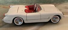 Franklin Mint 1953 Corvette Roadster 1:24 Diecast.