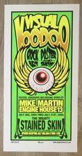 2004 Visual Voodoo Art Show - Columbus Silkscreen Event Poster by Mike Martin