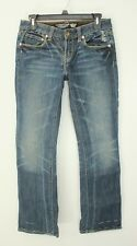 CHRISTIAN AUDIGIER LOW RISE BOOT CUT STRETCH JEANS SIZE 29 x 34