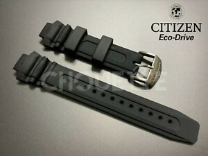 Citizen Eco-Drive Promaster Orca BN0015-07E, BN0018-09E Black Rubber Strap Band