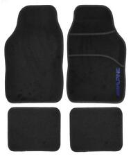 Alfombra Negro Resistente Alpine interior coche alfombrillas Set de Regalo Idea