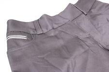 ADIDAS ClimaLite Elasticizzato Golf Pantaloni tagliato 3/4 Nero 6 + 10 Bottone a Pressione Gamba