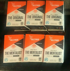 3 Bulletproof Coffee Pods Mentalist Medium Dark or Original Medium Roast