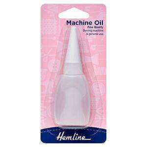Hemline Quality Sewing Machine and general use Oil 20ml (3/4fl oz)