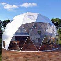 Gewächshaus Rund Kuppel - Hotel und Camping - Zelt - Pavillon Wintergarten Iglo