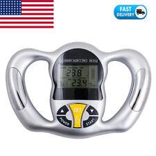 Digital LCD Body Fat Analyzer Health Care Monitor BMI Meter Measurement Tester