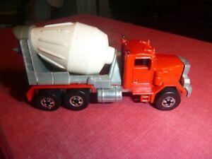 HO 1979 Peterbuilt Cement Truck, Hot Wheels by Mattel