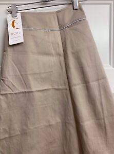 Sheila Moon Women's Sateen Ruth Skirt - Sand - Small
