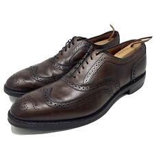 Allen Edmonds McAllister Wingtip Oxford Dress Shoes Brown Mens Size 12 D